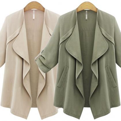 New Fashion Irregular Jackets for L..