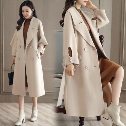 Luxurious And Fashion Loose Long Wo..
