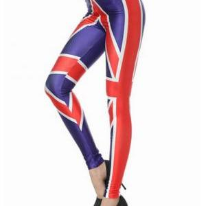 Fashion Fitted Middle Waist Britis..