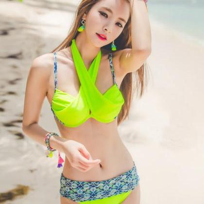 Women Bikini Set Swimsuit Beach Bat..