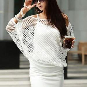 Chic Three Quarter Sleeve Two Piece..
