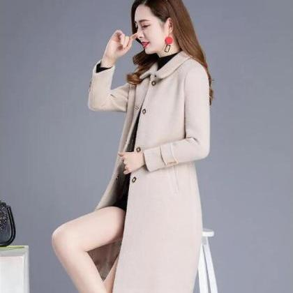 New Women Long Sleeve Coat (3 Color..