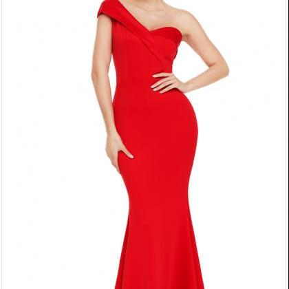 High Quality One Shoulder Elegant M..
