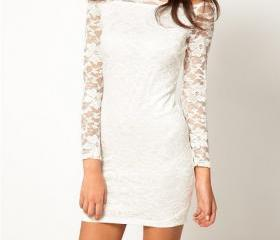 Fashion Lace long-sl..