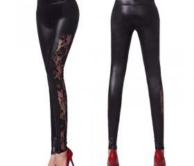 New Leather pants fe..