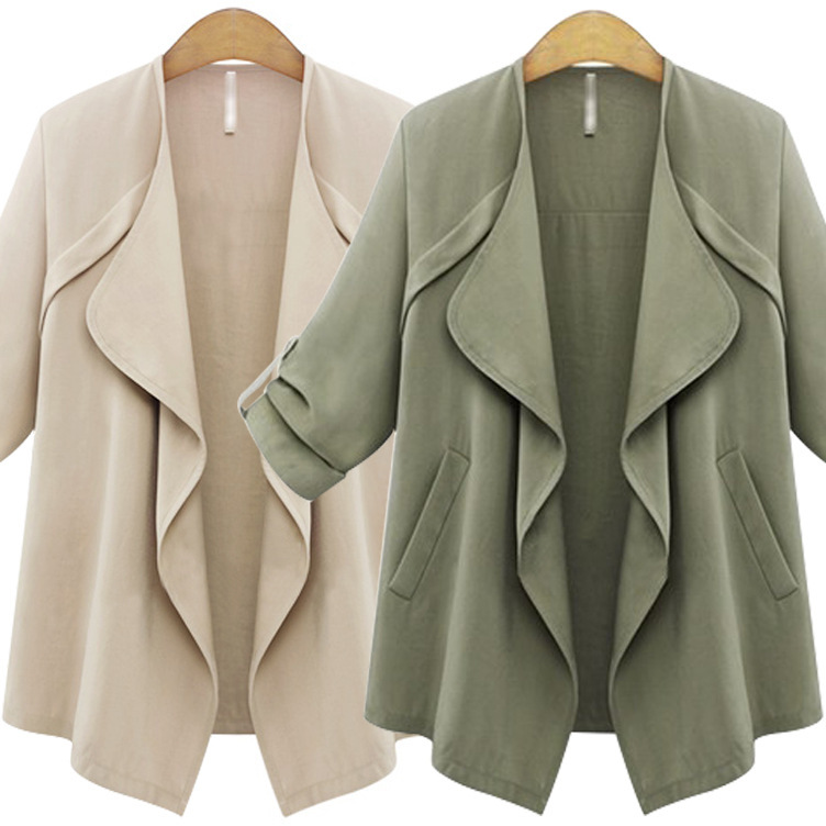 New Fashion Irregular Jackets for Lady (2 Colors)