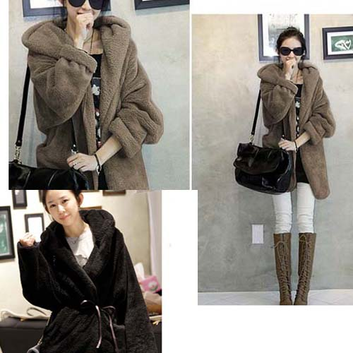 Women's Fashion Hooded Cardigan Hoodie Outwear