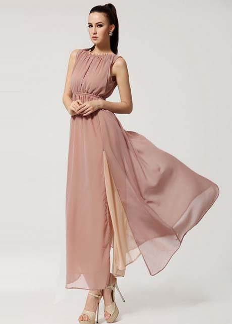 Chiffon Long Dress