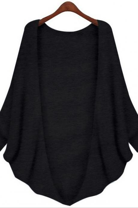 Fashion Batwing Sleeve Cardigans (2 Colors)