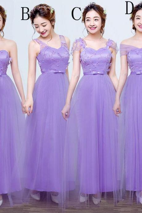 Fashion new Strapless Dress - Purple