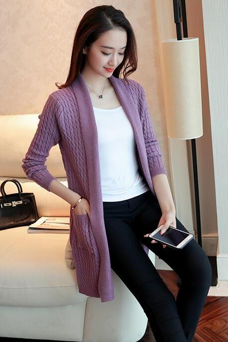 New women sweater cardigan