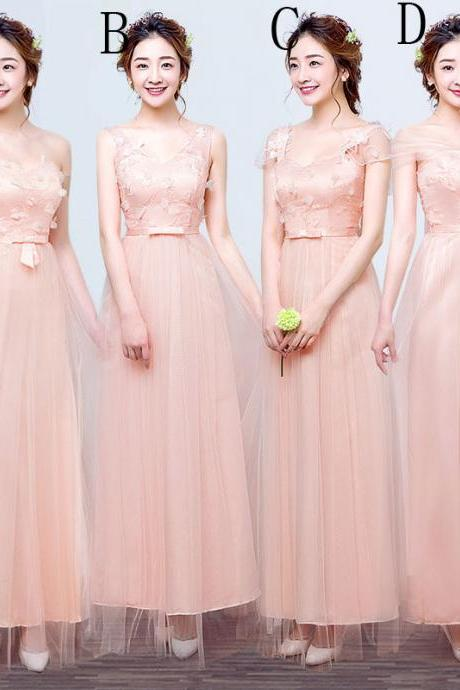 Fashion new Strapless Dress - Pink