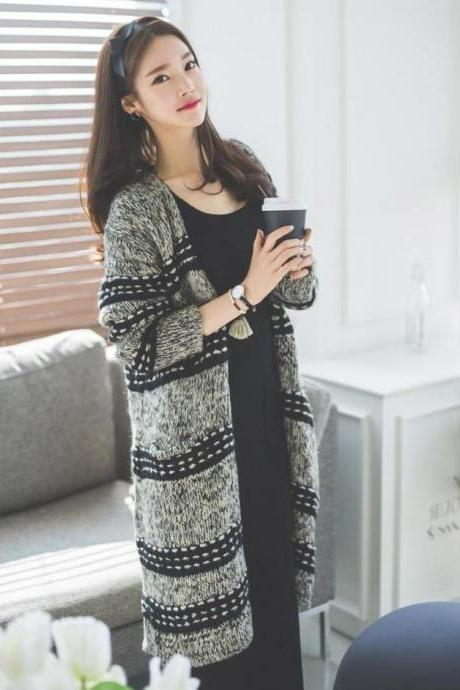 Women Cardigan Sweater Warm Coat