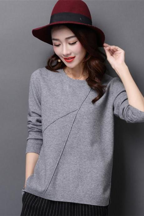 Casual Long Sleeve Cardigans sweater for Woman