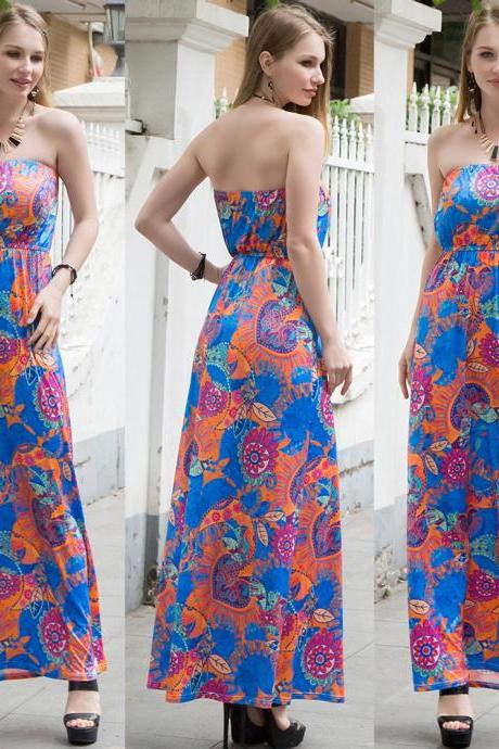 New Summer And Spring Long Dress