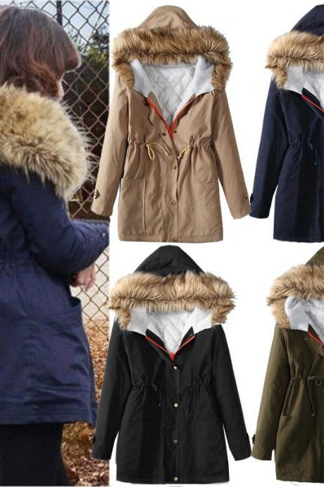 High Quality Women Winter Warm Coats (4 Colors)