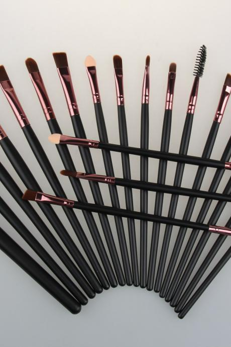 Free Shipping Good Cheap 20 pcs Makeup Brushes Set