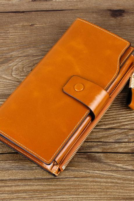 High Quality Fashion Real Leather Wallet For Women