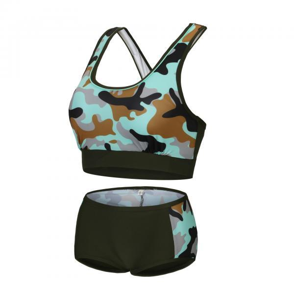 New Woman Camouflage Swimsuit